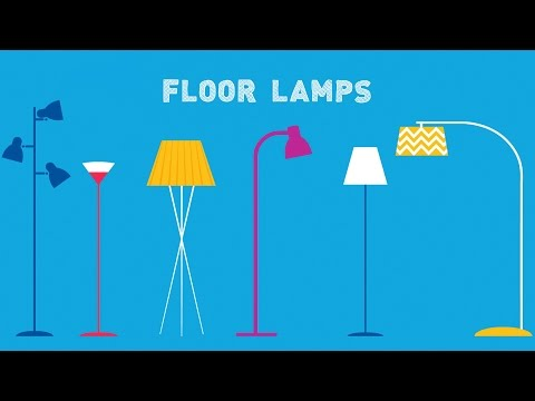 Types of Floor Lamps: How to Choose