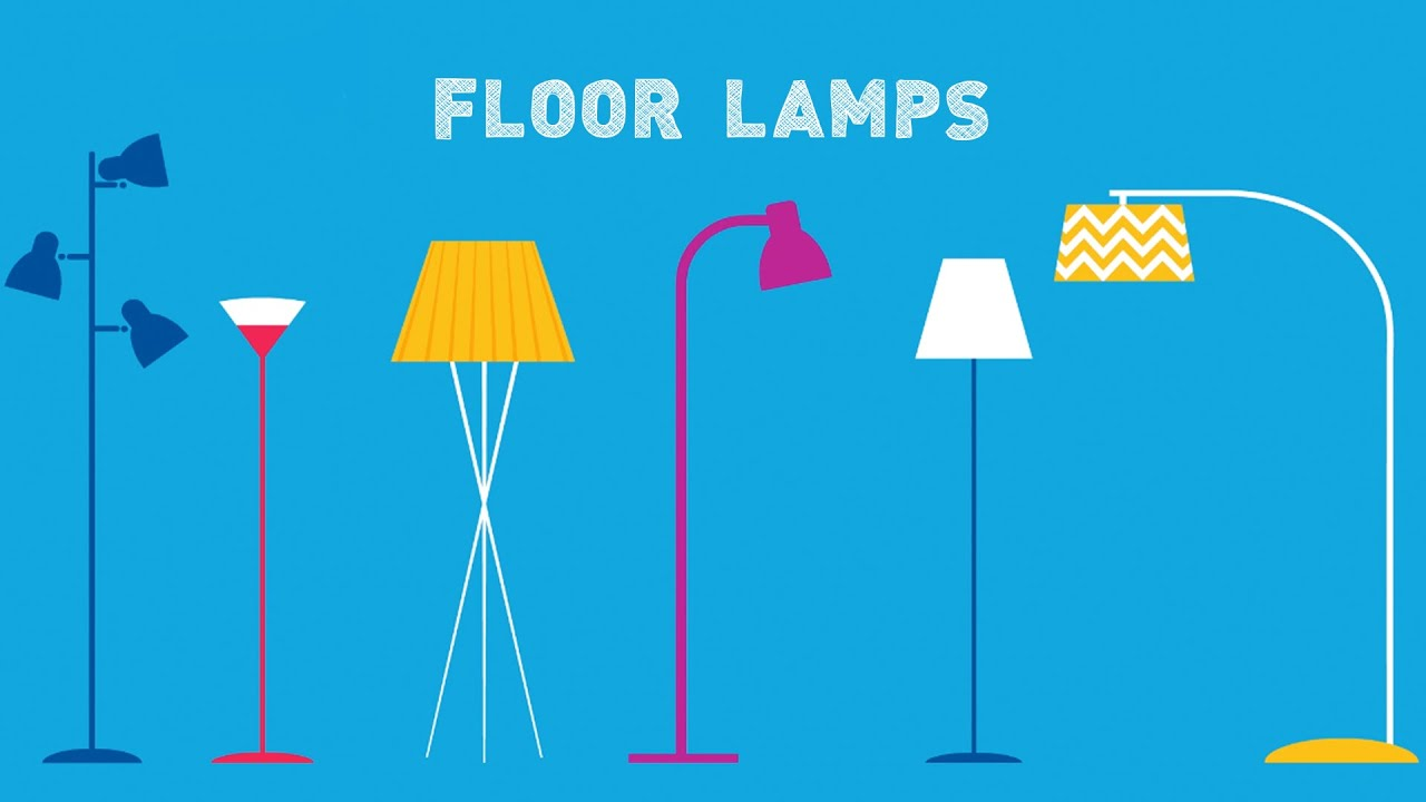 Types Of Floor Lamps: How To Choose   YouTube