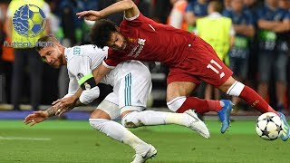 SERGIO RAMOS REPARTIENDO (Ramos vs Costa - Ramos vs Salah) DEFENDING SKILLS