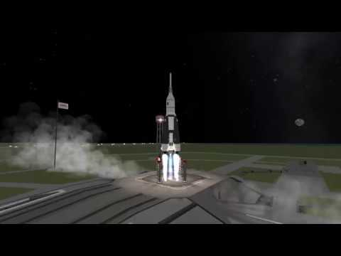 KSP: Mission 1: Go to the space station