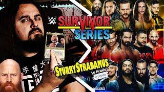 [Sturrystradamus] Le Prono de WWE Survivor Series 2019
