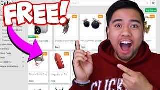 REACTING TO IF EVERYTHING ON ROBLOX WAS FREE!