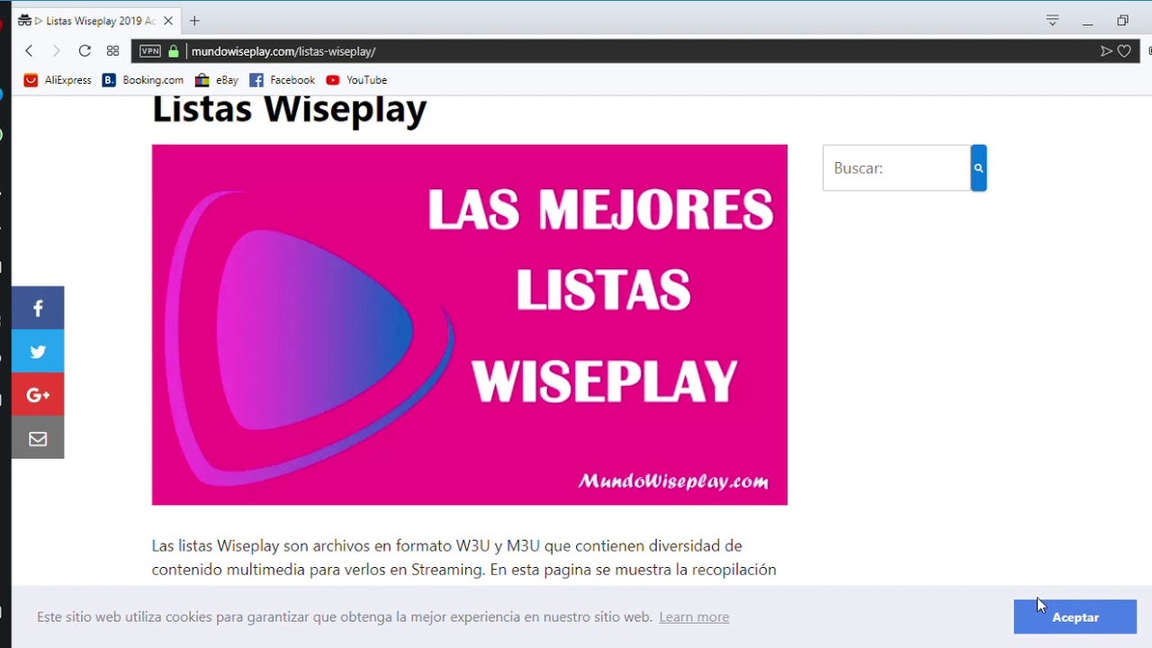 Wiseplay List 2019