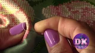 Как вышивать бисером.