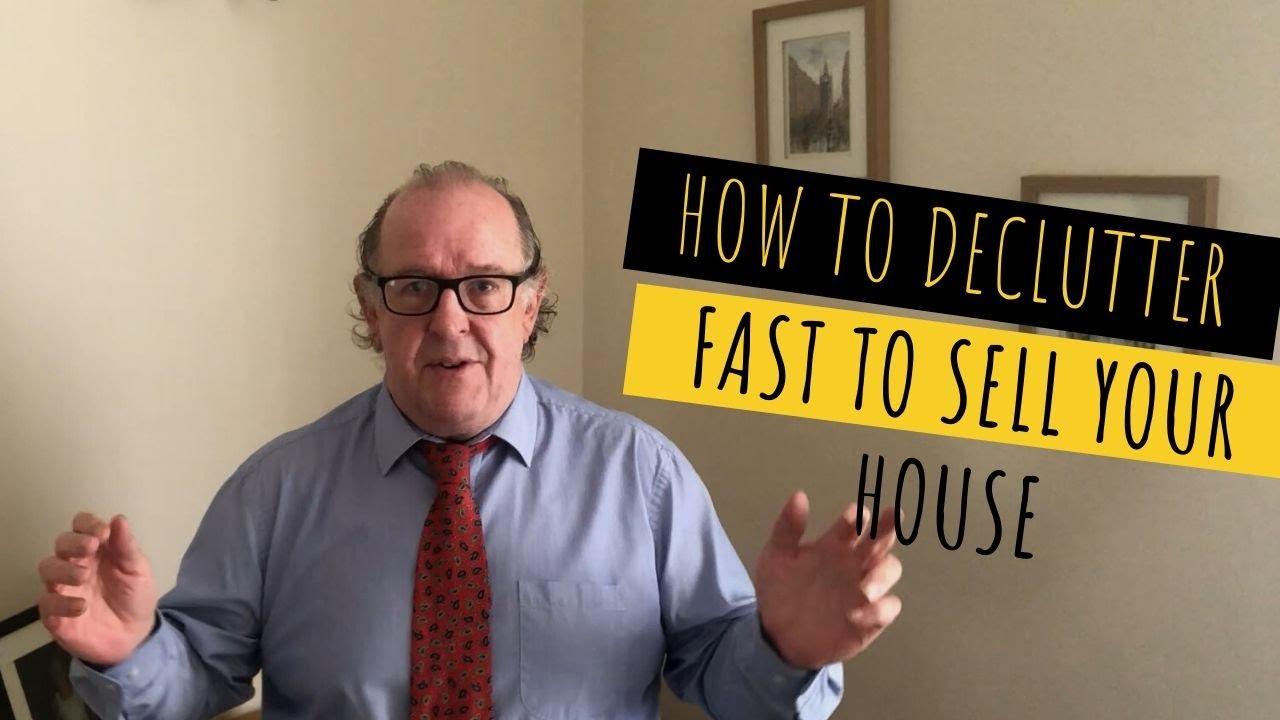 How to declutter fast to sell your house