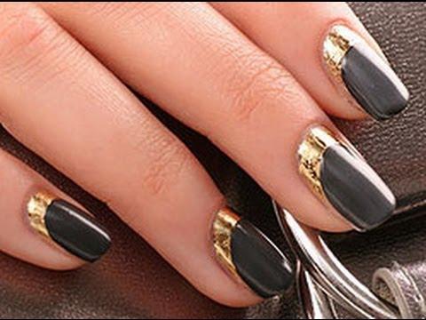 Дизайн ногтей с фольгой. Фото и видео - Маникюр и дизайн