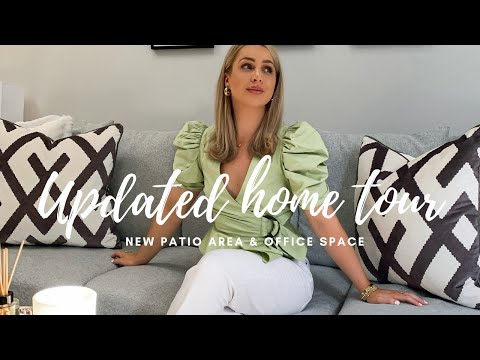 UPDATED HOME TOUR | NEW PATIO AND OFFICE SPACE