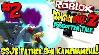 SSJB FATHER SON KAMEHAMEHA! | Roblox: Dragon Ball Forgotten Tale (Remastered) - Episode 2