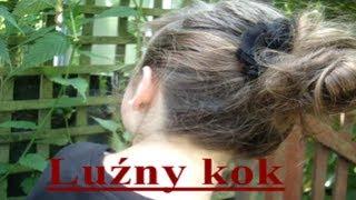 Jak zrobić luźny kok?   fryzura krok po kroku