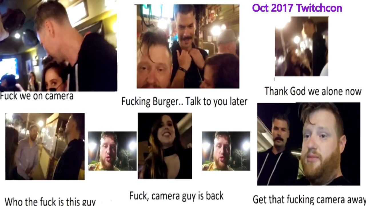 Burger Andy Aka Burger Planet Exposes Dr Disrespect At Twitchcon