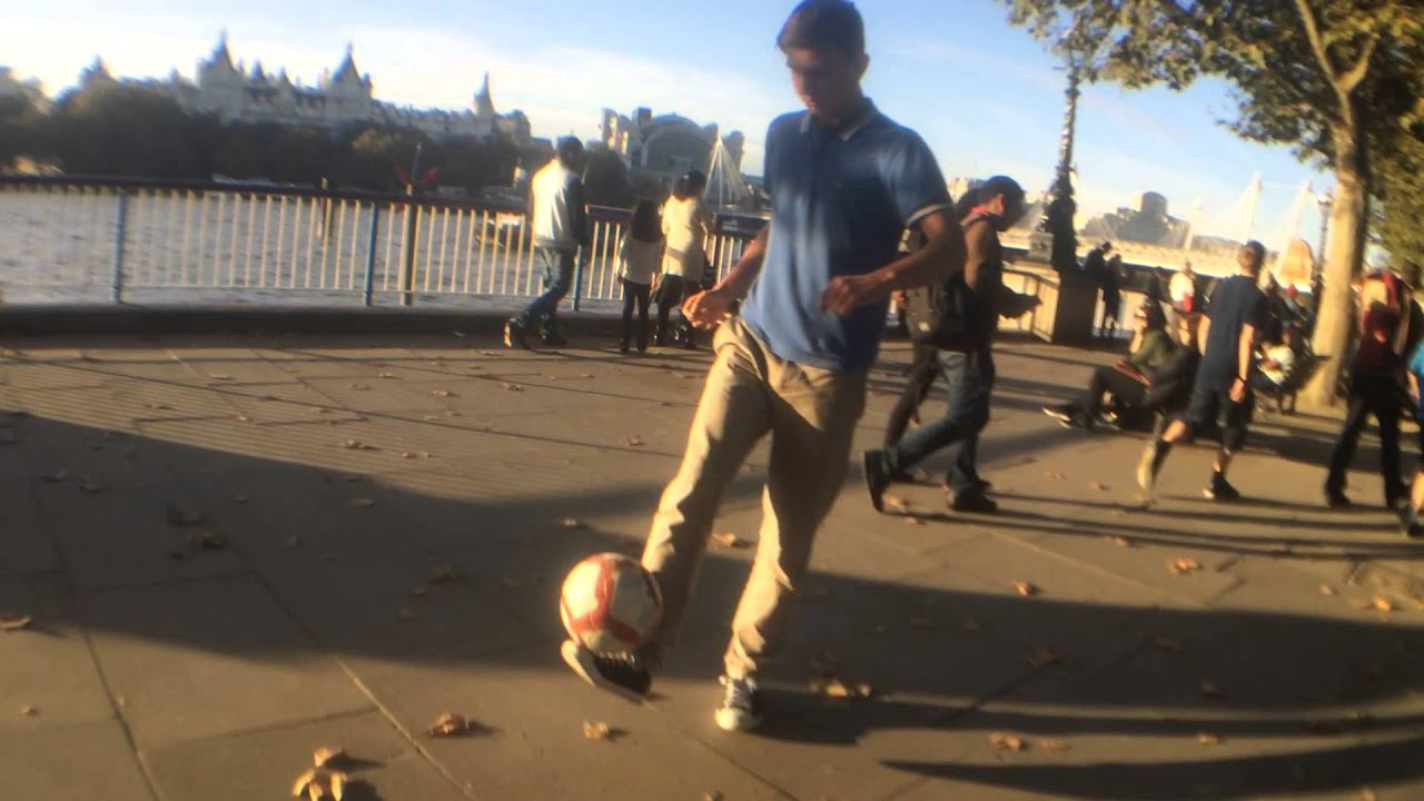 a7856c0553b6 Football Freestyle (London River Thames). SP9 Football