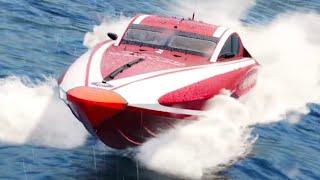 The Crew 2 Official Jaguar Vector V40R Powerboat Trailer