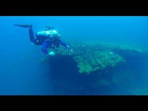 USS Saratoga Wreck, Bikini Atoll, Marshal Islands