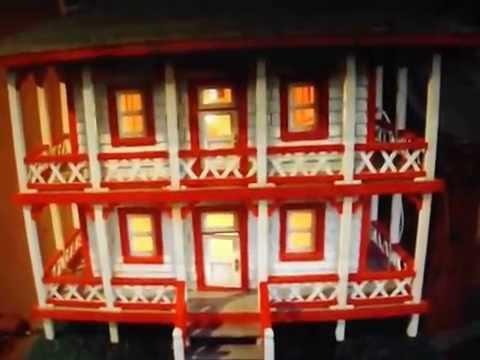 Maquette de la maison de ferdinand maranda youtube for Maquette de maison