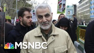 "Sen. Booker: 'This President Has No Larger Strategic Plan"" In Middle East 
