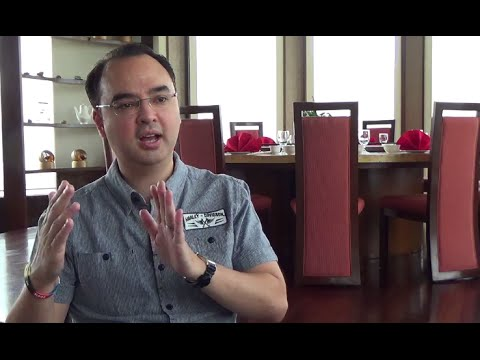 Exclusive interview with Alan Peter Cayetano (FULL)