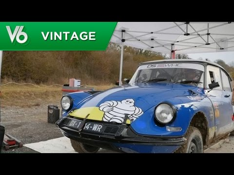Anthony Pilote Une DS - Les Essais Vintage De V6