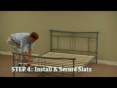 Metal Platform Bed Assembly