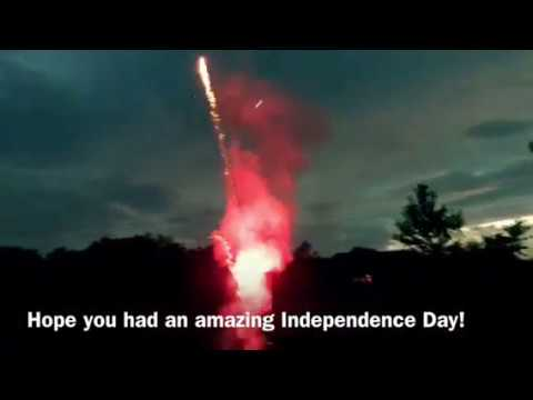 Celebrating Independence Day - Family, frogs, fireworks & FREEDOM