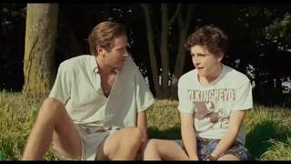 Call me by your name - Elio & Oliver First Kiss