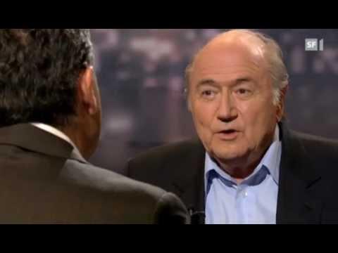 Sepp Blatter bei Roger Schawinski
