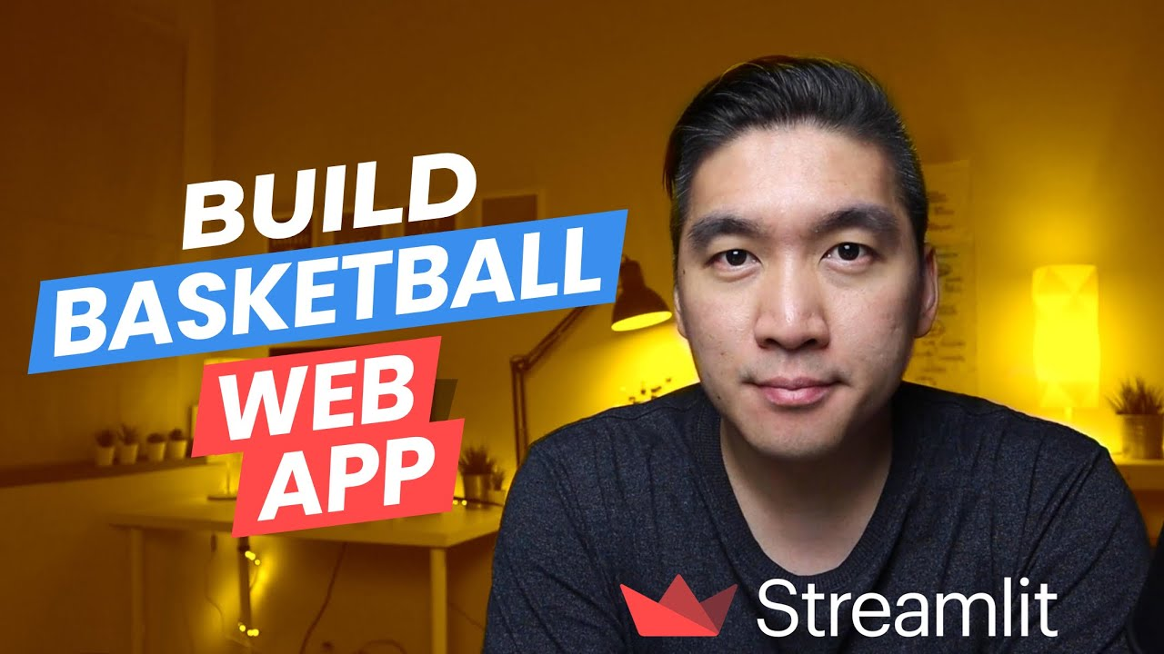 How to Build a Basketball Player Data Explorer Web App in Python (Streamlit Tutorial Part 5)