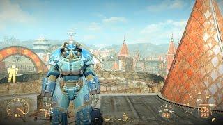 Как получить самую сильную легендарную Квантовую силовую броню в Nuka World в Fallout 4