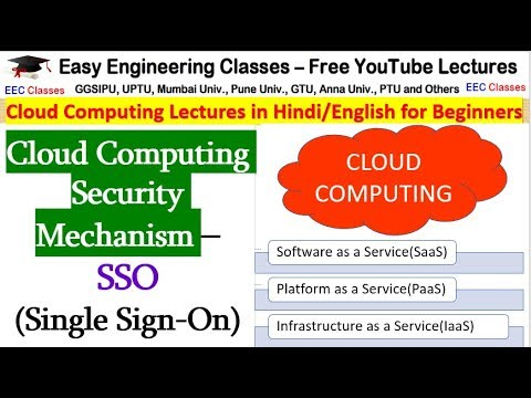 Cloud Computing Security Mechanism – SSO (Single Sign-On)