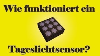Minecraft-Tutorial: Tageslichtsensor (Wie funktioniert / Straßenbeleuchtung / kurzes Signal)(PMT065)