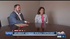 Archbishop responds to controversy surrounding Roncalli guidance counselor's same-sex marriage