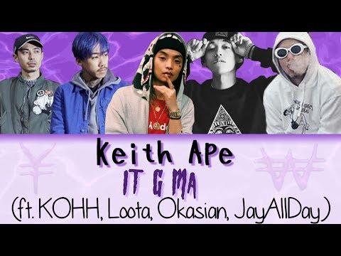 keith Ape – It G Ma (ft Kohh, Loota, Okasian, JayAllDay) [Jnp|Han|Rom|Vostfr]