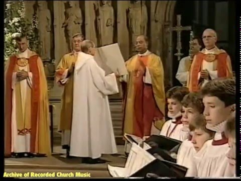 """BBC TV """"Christ is Risen!"""": Rochester Cathedral 1997 (Roger Sayer)"""