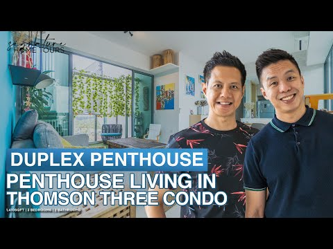 Singapore Condo: Modern Duplex Penthouse Living in Thomson T