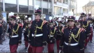 DRK SFZ Rückers - DRK Spielmanns- und Fanfarenzug Rückers e.V. - Straßenshow