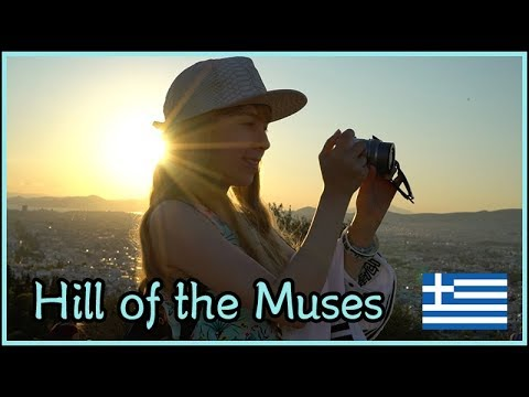Hill of the Muses    Athens Greece