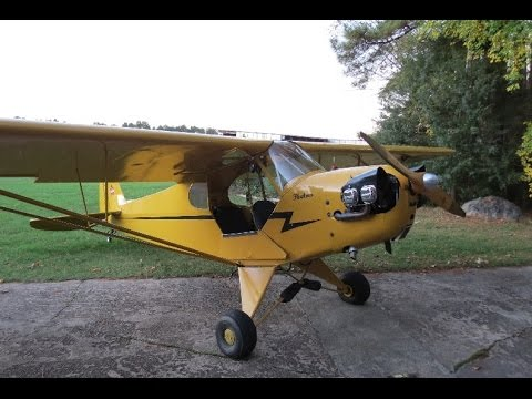 Horace Williams Airport and a Ride in a Piper Cub
