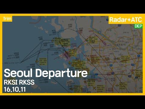 Seoul Departure ATC 161011