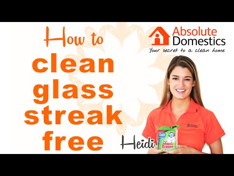 How to Clean Windows and Mirrors Streak-Free
