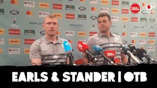 Keith Earls & CJ Stander | Ireland's World Cup build-up | OTB