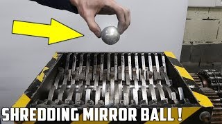 Making a Mirror Polished Japanese Foil Ball and Shredding It !