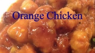 Chinese Orange Chicken Recipe In Less Than 3 Minutes Panda Express Dish