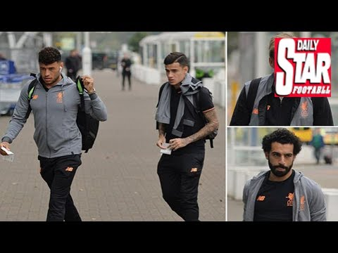 Liverpool jet off for champions league clash in slovenia