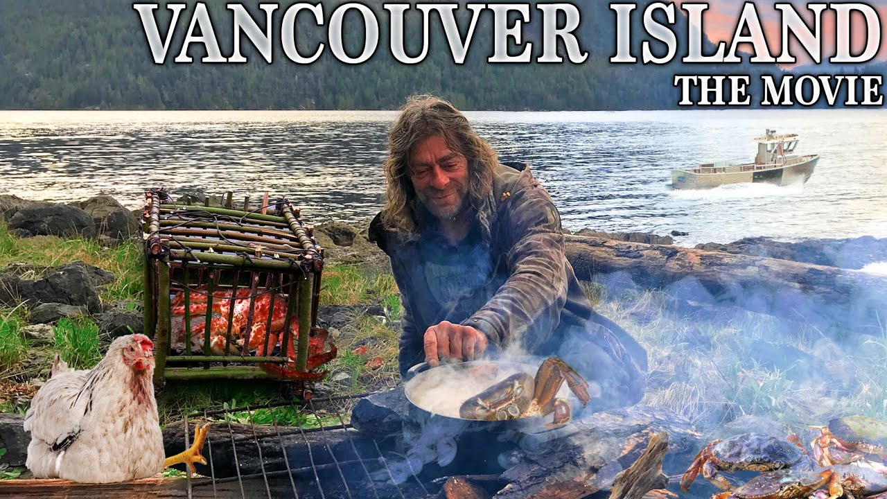 Ovens Vancouver Island Adventure MOVIE | Catch & Cook Pacific Rainforest