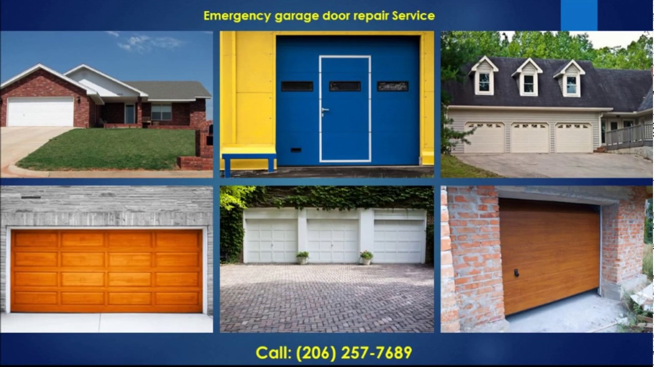 Repair tulsa ok tulsa garage door repair service broken springs - Garage Door Repair Puyallup 206 Overhead Garage Doors Puyallup