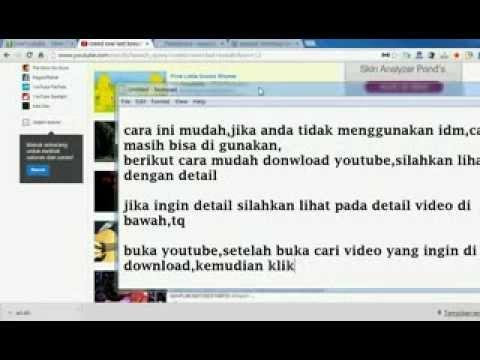 cara donwload youtube dengan mudah berbagai format cepat dan tanpa idm