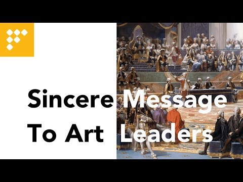 Sincere Message to Art Leaders @NY Times Art Leaders Network
