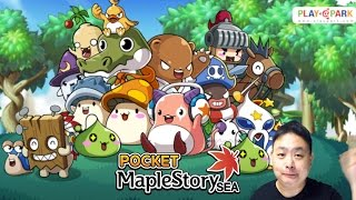 Pocket MapleStory - (iOS/Android) S. Korea first then Thailand, Singapore, Malaysia, Philippines!