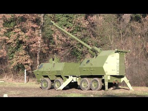Yugoimport SDPR - Nora B-52K1 155mm Self-Propelled Howitzer [720p]