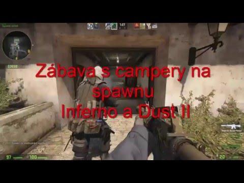 Spawncampeři-Inferno a Dust II