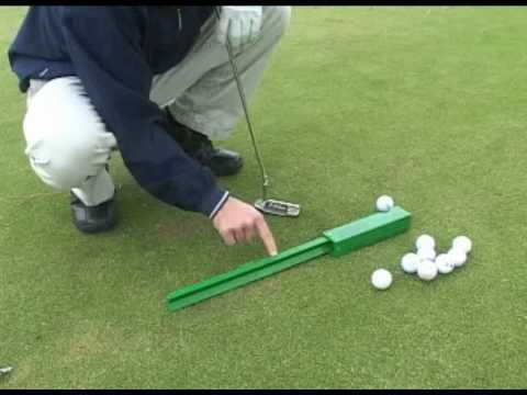 Golf Putting Aid- Learn how hard to putt the ball for any putting distance